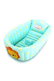 2 1 inflatable baby bath tub