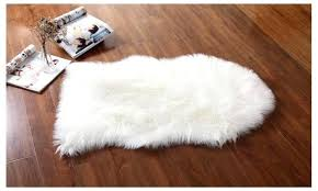 T Faux Fur Rug Premium Safavieh Sheepskin 5x7