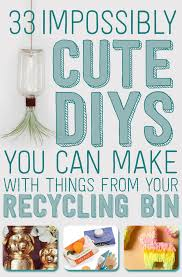 how to make girly things out of paper 33 impossibly cute diys you can make with things from your recycling bin