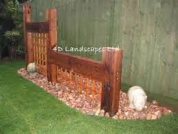 Small Picture Simon Cunliffes garden design with railway sleepers garden ideas
