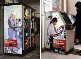 Vending Machine Companies Jobs Delectable 48 Creative Ads In Unusual Places Ads Creative And Creative