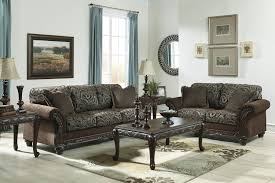 Traditional Style Furniture Living Room Traditional Style Brown Sofa Love Seat Living Room Furniture Set
