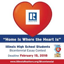 illinois realtors® bicentennial task force launches home is where   home is where the heart is essay contest illinois realtors bicentennial essay