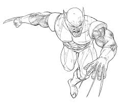 Small Picture Wolverine coloring pages for boys ColoringStar
