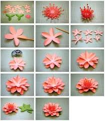 How To Make Origami Paper Flower Flower Origami Partypurple Co