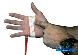 Dive Glove Size Chart How To Measure Your Hand For The Proper Size Glove