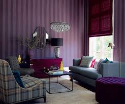 Plum Living Room Purple And Grey Living Room Wallpaper Yes Yes Go