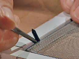 How to Replace Screen Material   how-tos   DIY