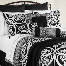 Duvets Bedroom Black And White Comforter Sets Queen Excellent