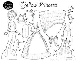 Barbie Doll Coloring Pictures C1476 Barbie And Ken Paper Dolls Paper