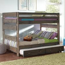 $1031 15 Wrangle Hill Full Over Full Bunk Bed with Trundle