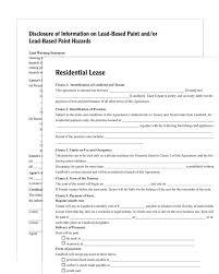 House Lease Form Ataumberglauf Verbandcom