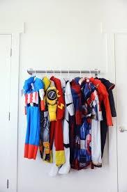 Superhero Coat Rack 100 Easy Ways To Store Your Halloween Costumes Personal Mini Storage 59