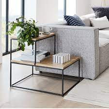 streamline tiered side table