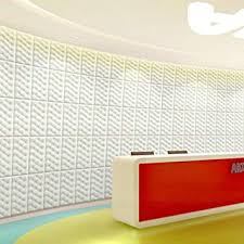 wall tiles for office. Yazi 10Pcs Peel And Stick Wall Tile 3d Foam Panels For Home Office  Decor Wall Tiles Office