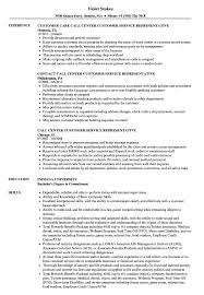 Call Center Rep Resume Call Center Customer Service Representative Resume Samples Velvet Jobs 1
