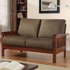Mission Living Room Furniture Homelegance Mission Loveseat