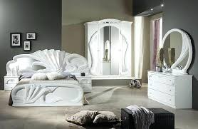 Showy Italian Furniture Bedroom Set Pure White Bedroom Furniture ...