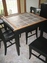 ... Delightful Decoration Tile Top Kitchen Table Crafty Inspiration 37 Best  Images About Tiled Tables On Pinterest ...