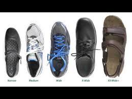 Shoe Widths Explained Youtube