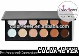 12colors best name brand makeup concealer palatte make up