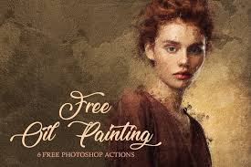 photoshop effects free 6 free oil paint photoshop actions photoshop actions oil