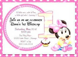 Mouse Invitation Birthday Hot Dog Mickey Clubhouse Minnie Template