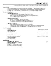 Sample Resume For College Student Seeking Internship Resume Format