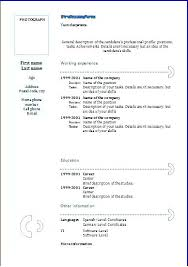 Resume Format For Download Gorgeous Resume Format Doc Lidazayiflama