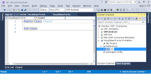 Xamarin Forms Using Visual Basic Net Xamarin