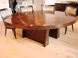dining chair design. Marvelous Rounded Wooden Gloss Veneer Modern Dining Table With Four Chair Set On Floors As Inspiring Open Room Designs Design