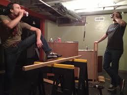 Diy Bar Hey Hey Erin May - Simple basement bars
