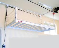 suspended garage shelves garage storage