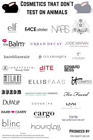 cosmetics that dont test on s stylebeautylovelife this brand full list