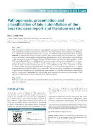Pdf Pathogenesis Presentation And Classification Of Late