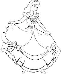 Cinderella Coloring Pages Free Download Coloring Pages Coloring Page
