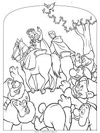 Imprimer Personnages C L Bres Walt Disney Blanche Neige Et