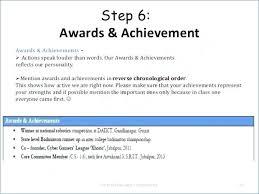 Accomplishments For Resume Amazing Achievements On Resume Examples Awards To Put On Resume Example
