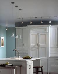 island track lighting. white cabinet island track lighting with pendants kitchens m