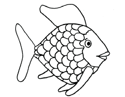 Rainbow Trout Pic To Color 2 Coloring Page With Outline Online Fish