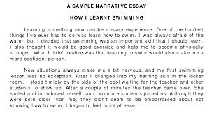 narrative essays personal narrative essay org view larger narrative essay examples