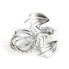 latest 925 sterling silver dragon cage pendant