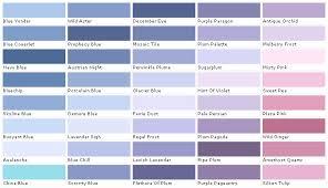 Violet Colour Chart Blue Violet Paint Color Euffslemani Com