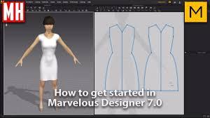 Photo Designer 7 How To Get Started In Marvelous Designer 7 0