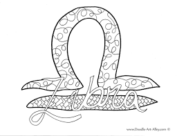 Zodiac Coloring pages - Doodle Art Alley