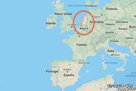Gran parte del país se formó originalmente silicona neutra los estuarios holanda mapa europa los tres holanda mapa europa. Road Trip Por Holanda Que Ver Cerca De Amsterdam Germen Viajero