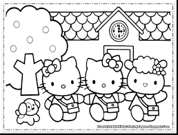 Hello Kitty Coloring Picture Justpage Co