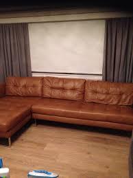 dwell paris tan leather corner sofa and dwell tan paris leather 2 seater sofa