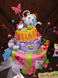 Mad Hatter Cake Designs Cake Alice In Wonderland Tea Party Alice In Wonderland