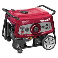 electric generator. 3500 Watt Powermate Electric Start Dual Fuel Portable Generator 6957